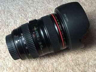 Canon 24-105 L is
