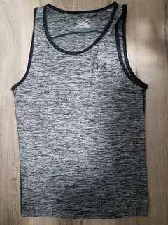 Under Armour Anthracite Grey Tank - Loose Fit Size S