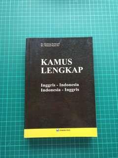 Kamus Lengkap : Inggris- Indonesia & Indonesia-Inggris