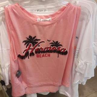 Mango beach crop top