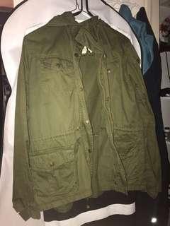 Cute green coat