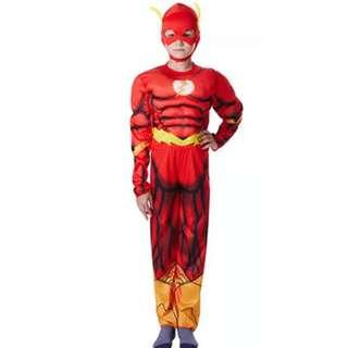 🚚 Marvel Superheroes The Flash Halloween Cosplay Birthday Party Costume