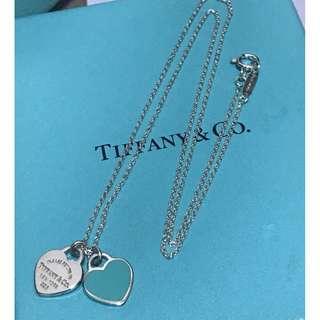 原價$1200 Tiffany-Return to tiffany Blue Heart Necklace
