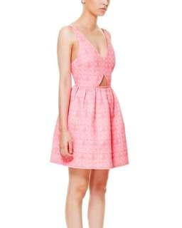 NEW! Zara jacquard / structured dress