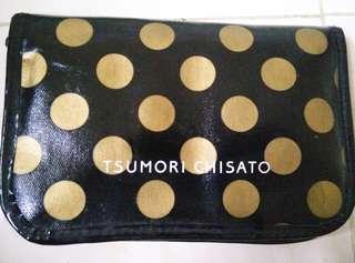 Japan Designer Tsumori Chisato Polkadot Travel Wallet