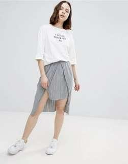 ASOS separated skirt size 8