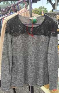 Atmosphere Lace T-Shirt