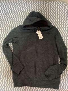 Uniqlo Dark Gray Full Zip Hoodie