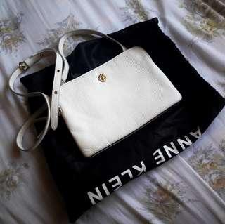 ONHAND Anne Klein Double Zip Crossbody Bag