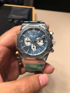 Audemars Piguet Royal Oak Chronograph Blue Dial - Rare!!