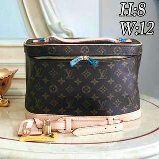 7c1204cc81d2 SALE with Serial Big LV Beauty Bag LV Make up Bag for your MAC Sephora  Guerlain