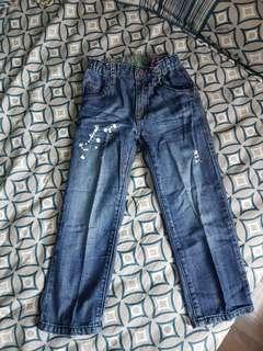 Bossini 牛仔褲 jeans 110碼