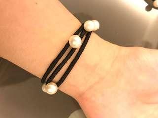 Bracelet/ hair tie 2 in a set