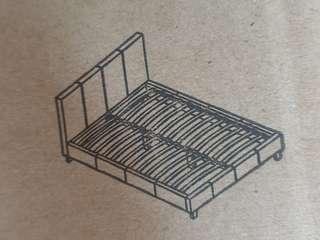 Black Queen Sized Bedframe