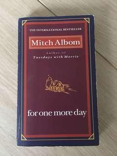 For one more day by Mitch Albom english book