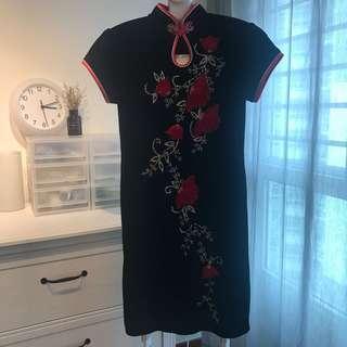 Tailored Cheongsam Dress