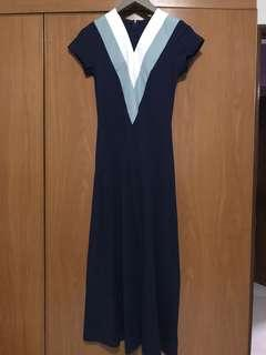 MDS Long Dress