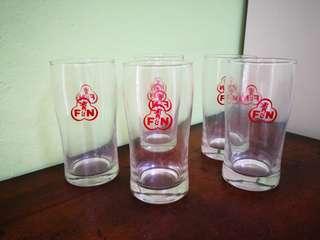 Vintage F&,N Glass