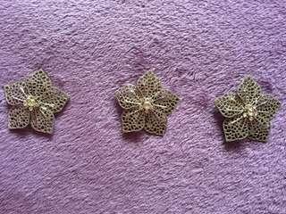 Flower Brooch / Keronsang Bunga untuk kebaya- harga termasuk postage to West Malaysia