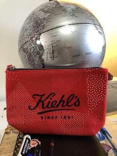 Kiehl's Cosmetics pouch