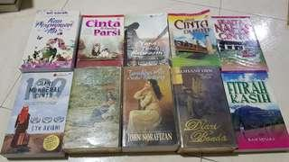 Used Malay Books/Novels For Sale CHEAP..!!!