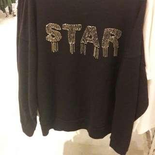 Mango star sweatshirt