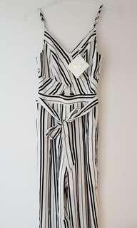 Stelly Striped Jumpsuit - BNWT