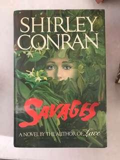 Savages by Shirley Conran - hard copy