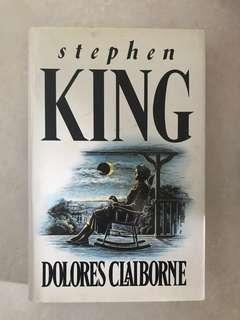 Dolores Claiborne- Stephen King - hard copy