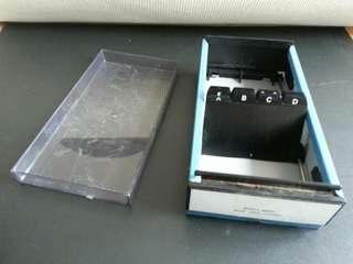 咭片盒 卡片盒 卡片分類