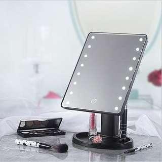 🚚 旋轉 化妝鏡 美容鏡 收納台