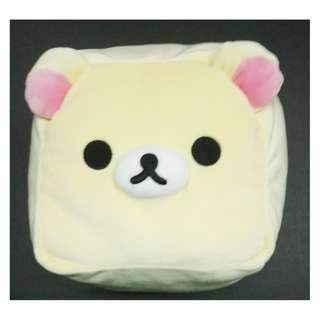 1058Yen 特價七算 正方14cm毛公仔 Rilakkuma(鬆馳熊、鬆弛熊、輕鬆小熊、懶懶熊、リラックマ)