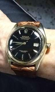 (For sharing only)Rolex big bubble 9k solid gold.Ref.4467.