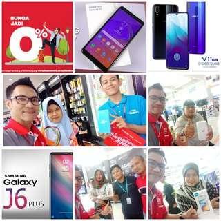 Promo HP Samsung Dan Vivo,Cicilan Bisa 0% Tanpa Kartu Kredit