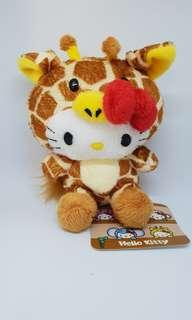 Hello Kitty in giraffe suit (Original Sanrio)