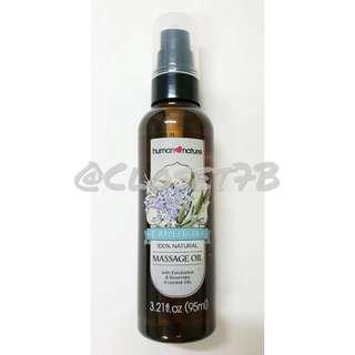 Human Nature Rejuvenating Massage Oil