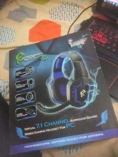 7.1 Dragon War Gaming Headphone