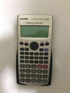 Casio Financial Calculator FC 100V