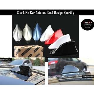 Car Sharkfin Antenna Radio AM FM Aerial Signal Multiple Colors To Choose