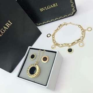 Black Friday Clearance Sale!! Bvlgari Necklace and Brace Set