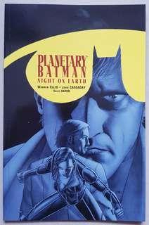 PLANETARY / BATMAN: NIGHT ON EARTH