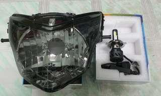Headlamp V4 / V5 With Led Light High Quality