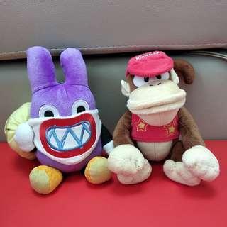 Super Mario dolls 瑪利奧系列公仔