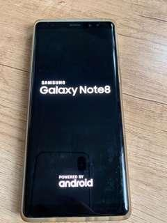 Samsung galaxy note 8 256gb