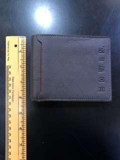 Edwin Army Leather Wallet
