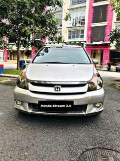 Honda stream sambung bayar
