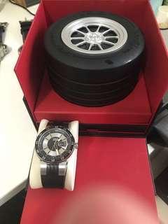 🚚 Oris錶 豪利時 Williamsr系列F1 Team Blue Circle腕錶 全盒裝 保卡