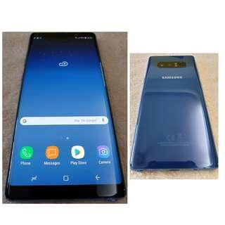 Samsung Note 8 64GB BLUE (Almost NEW)