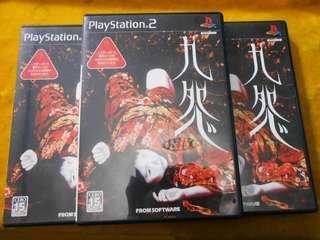 PS2 Game 九怨 kuon 港版日文