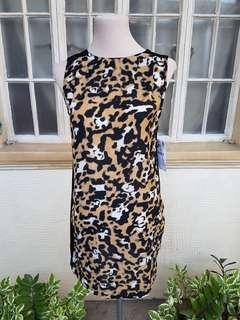 Zara Printed Sleeveless Dress